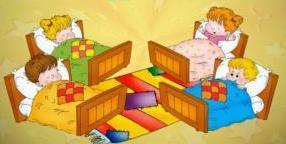 картинки для сна в детском саду